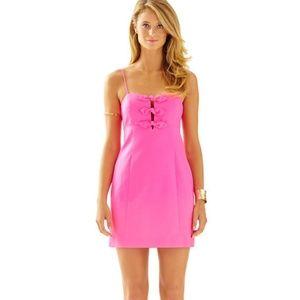Lilly Pulitzer Petra Hot pink dress